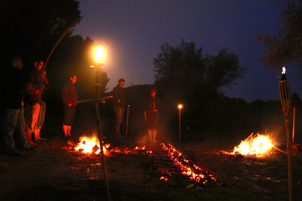 Firewalk coaching