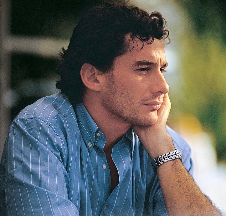 Ayrton Senna Icône