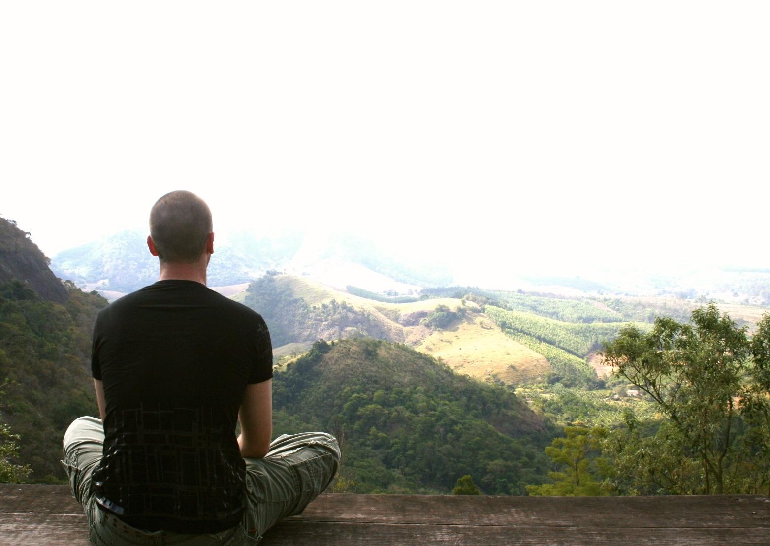 Méditation en plein air