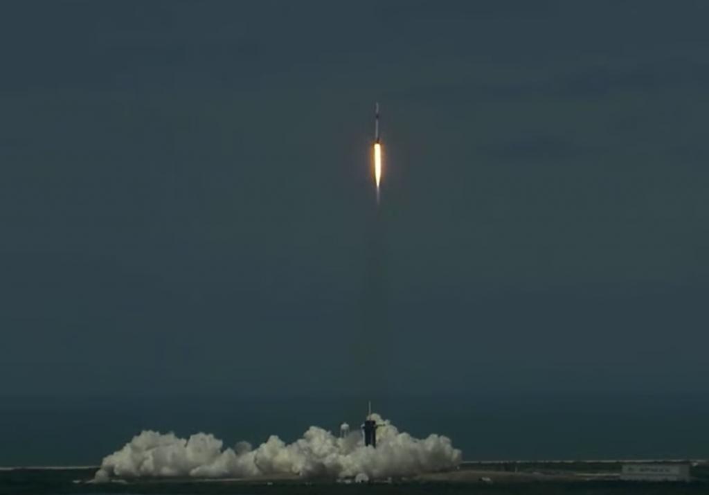 Décollage fusée Space X
