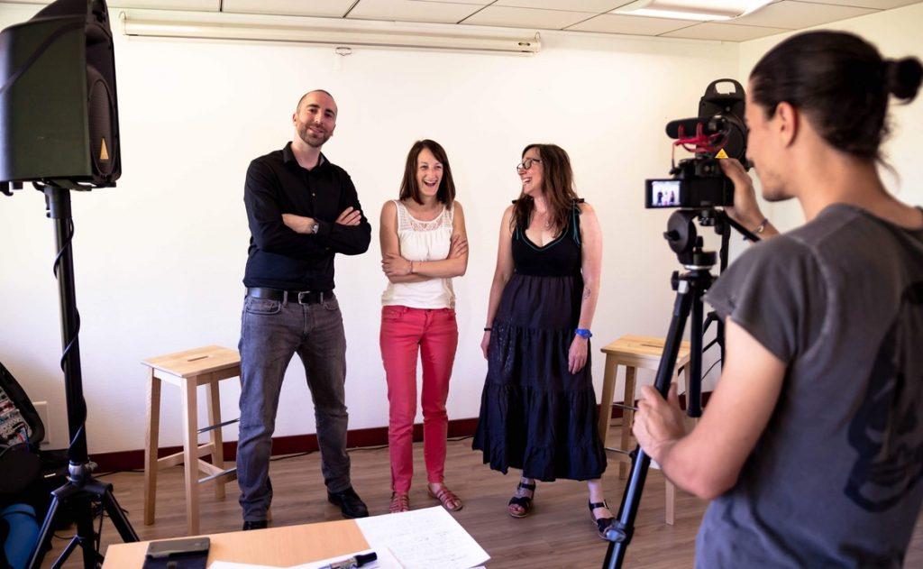 Equipe IICH : Bertrand, Marie, Elisa