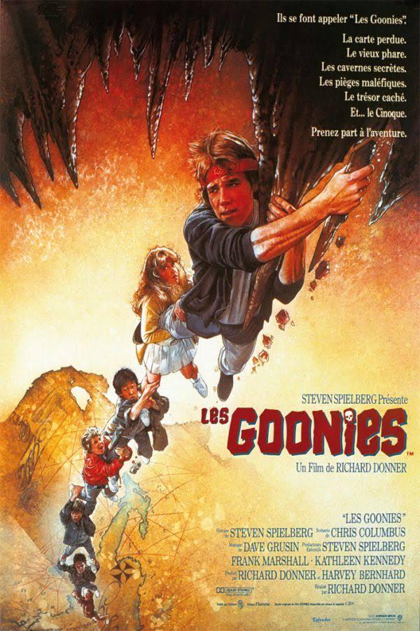 Les Goonies affiche de cinéma