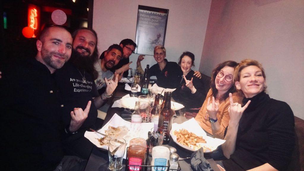 Equipe IICH : Bertrand, Yann, Gabriel, Marc, Jessy, Marie, Elisa