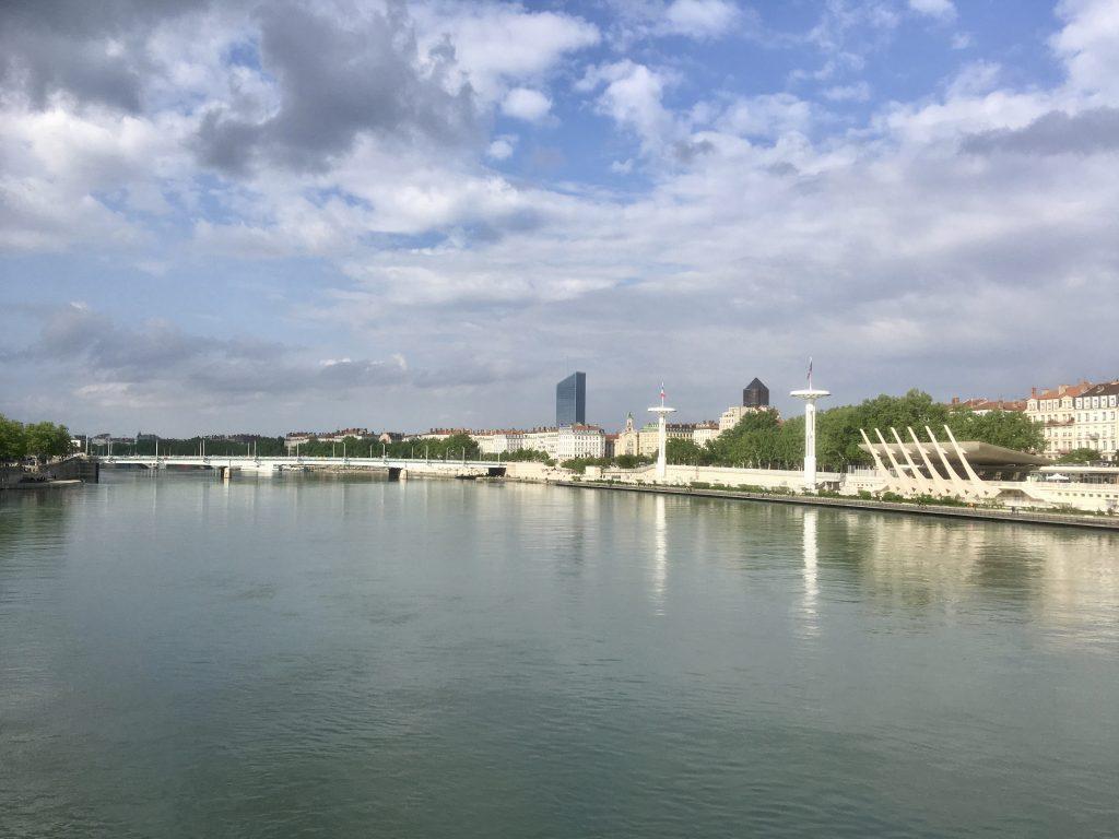Le Rhône, Lyon