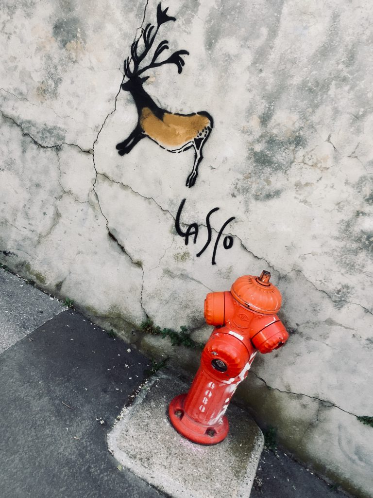 Street art : préhistoire