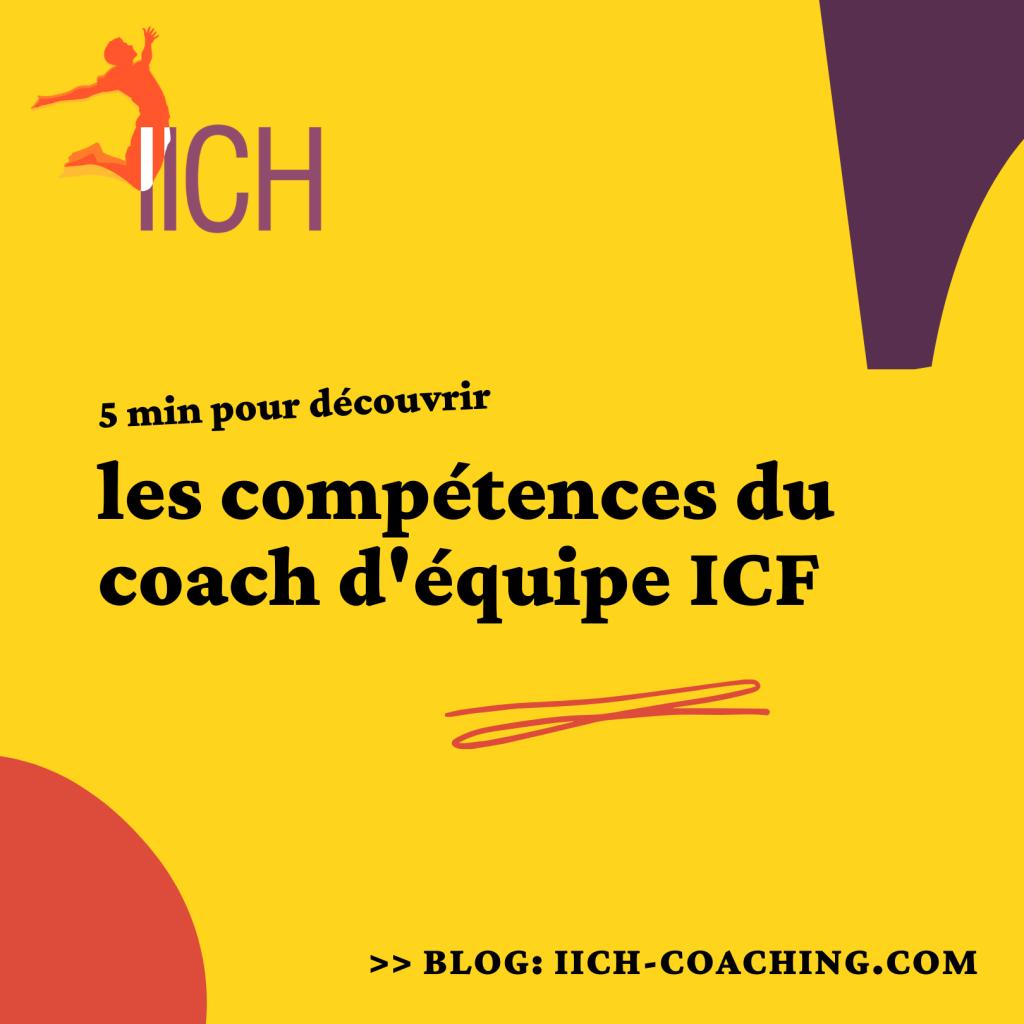Les compétences de coaching d'équipe ICF